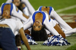 Blues Cheerleaders