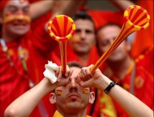 Spain football Fan