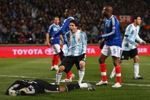 Lionel Messi Argentina vs France
