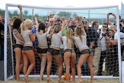 Hot German Football Fans