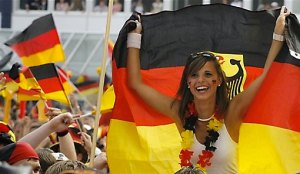 Hot German Football Fan