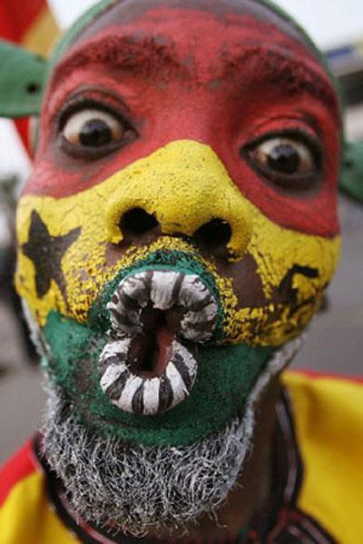 Ghana Black Stars Fan