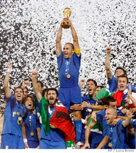 Italy Wins 2006 FIFA World Cup