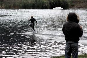 Liquid Mountaineering - Running on Water