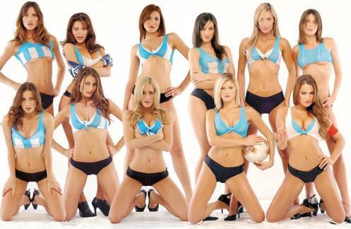 Argentina Fans Football Babes