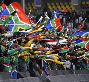 South African Soccer Vuvzelas