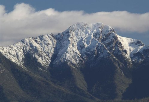 Snow in the Western Cape