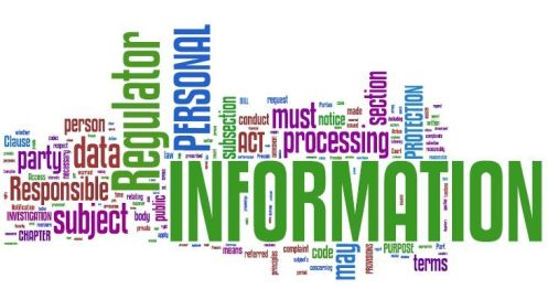 Protection of Information Bill