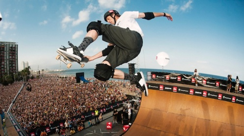 Tony Hawk in Barcelona