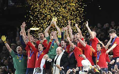 FIFA 2010 World Cup Champions Spain