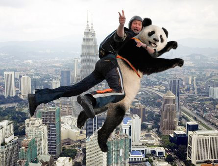 Base Jumping with endangered species