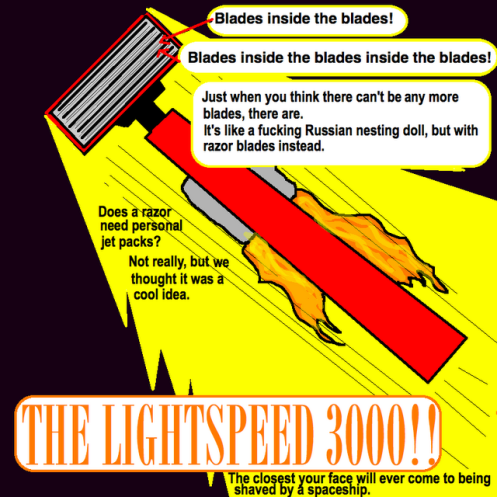 light speed razor
