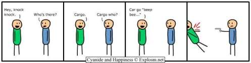 cyanide and happiness knock knock