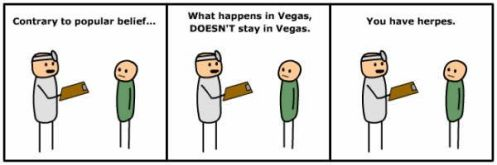 cyanide and happiness vegas herpes