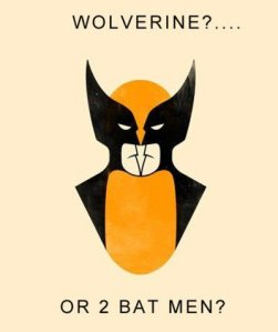 Wolverine or two batmans