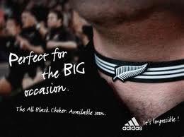 New Zealand vs France All Black Chockers