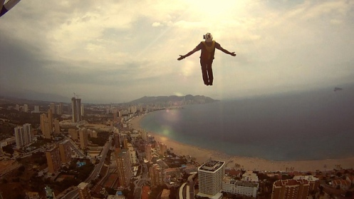 experience freedom sky diving slow motion video