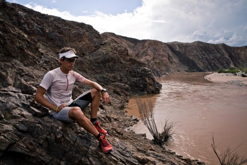 Ryan Sandes the beauty of the irrational fish river canyon trail run