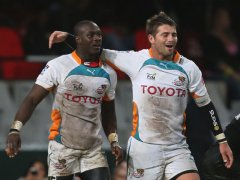 Raymond Rhule and Willie le Roux