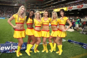 DHL Cheerleaders